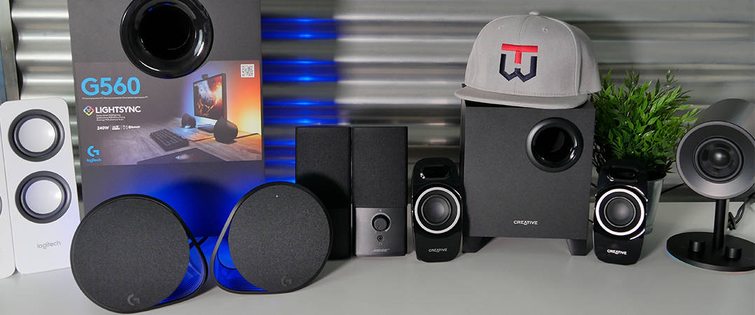 PC Lautsprecher Vergleich Headbild