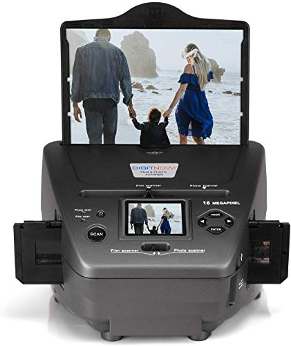 16MP All-In-1-Film Diascanner und 2.4 Zoll LCD...