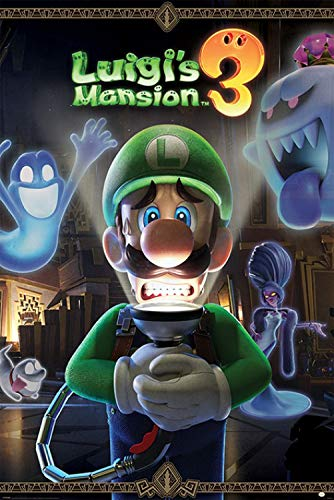 1art1 Super Mario - Luigi's Mansion 3 You're In for A Fright Poster 91 x 61 cm