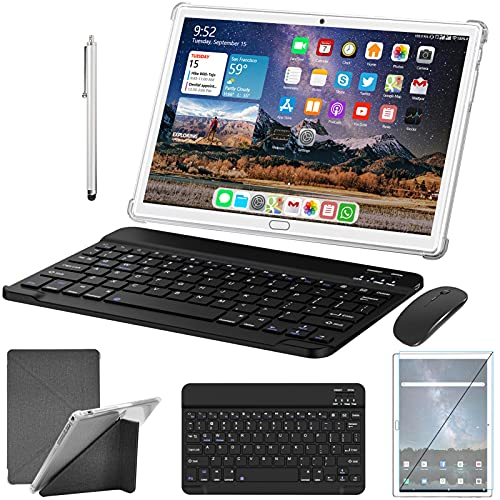 Tablet 10 Zoll Android 10.0 4G LTE Tablett PC mit...