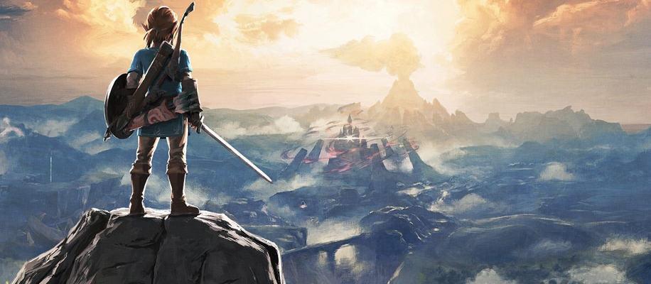 The Legend of Zelda: Breath of the Wild Render