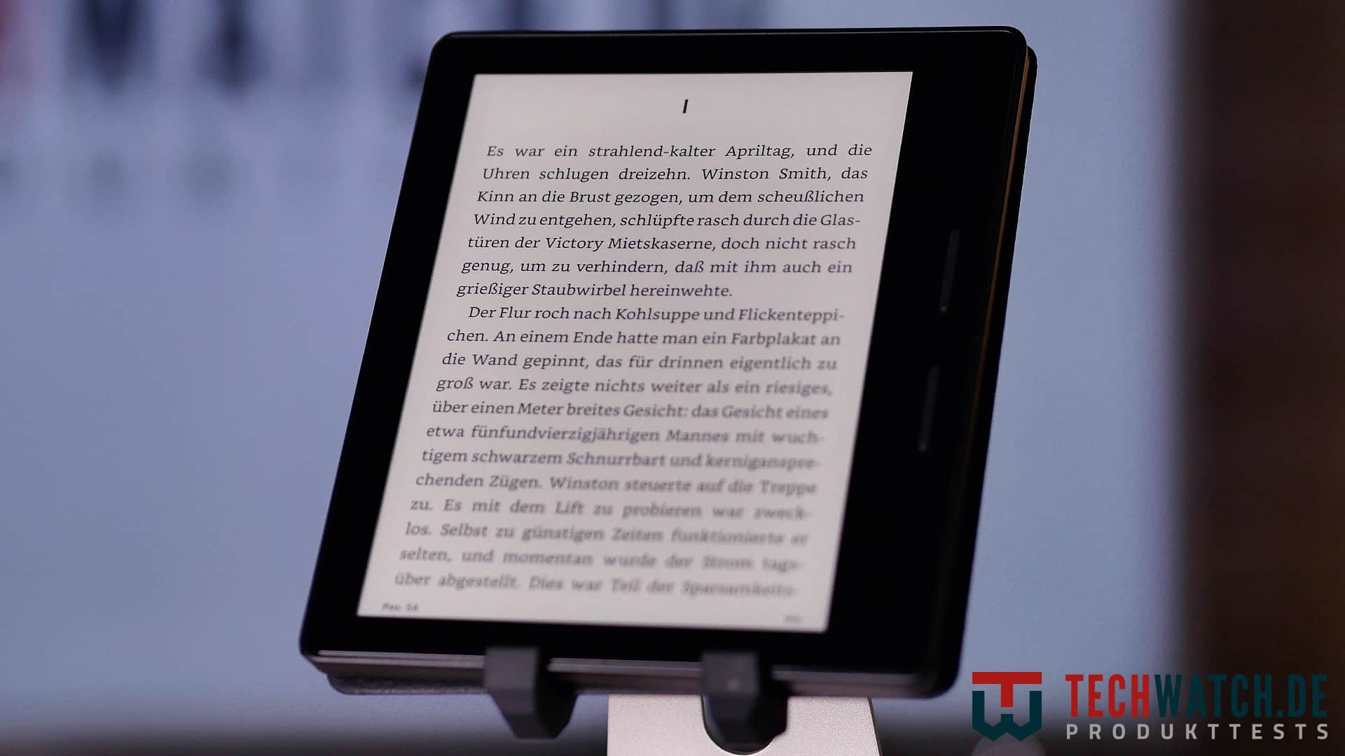 Amazon Kindle Oasis Front