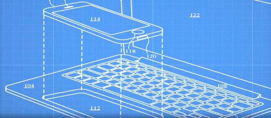 Smartphone wird in Laptop eingesetzt