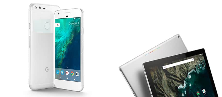Neue Geräte von Google
