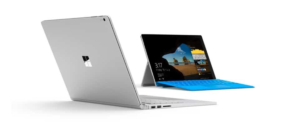 Microsoft Surface Book Render