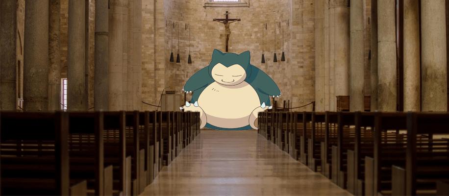 Pokemon Go Kirche