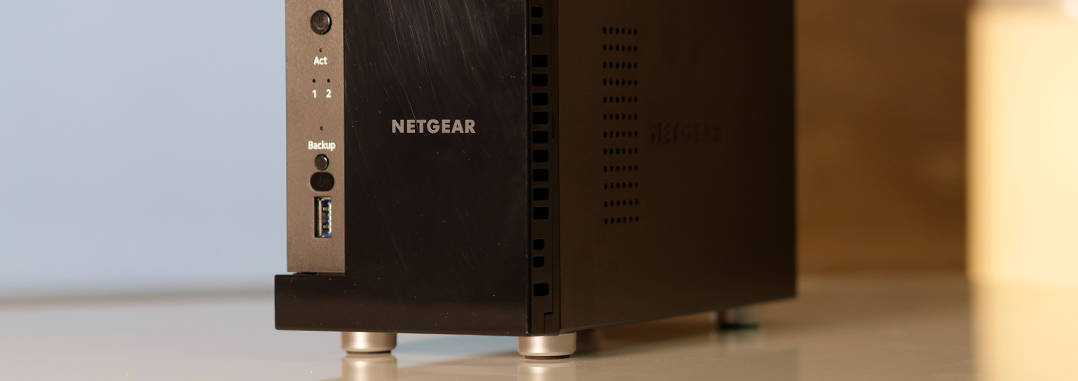 NETGEAR ReadyNAS 212 Headbild