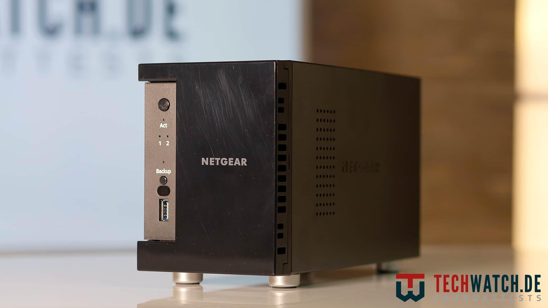 NETGEAR ReadyNAS 212 Front