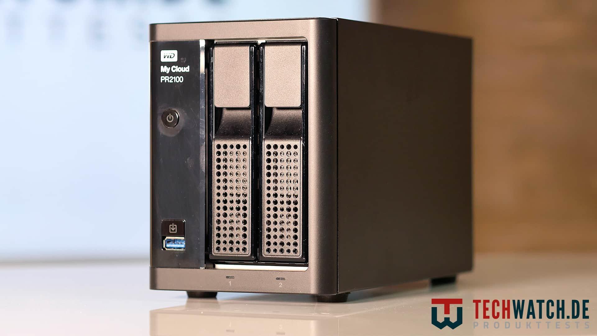 WD MyCloud PR2100 Front