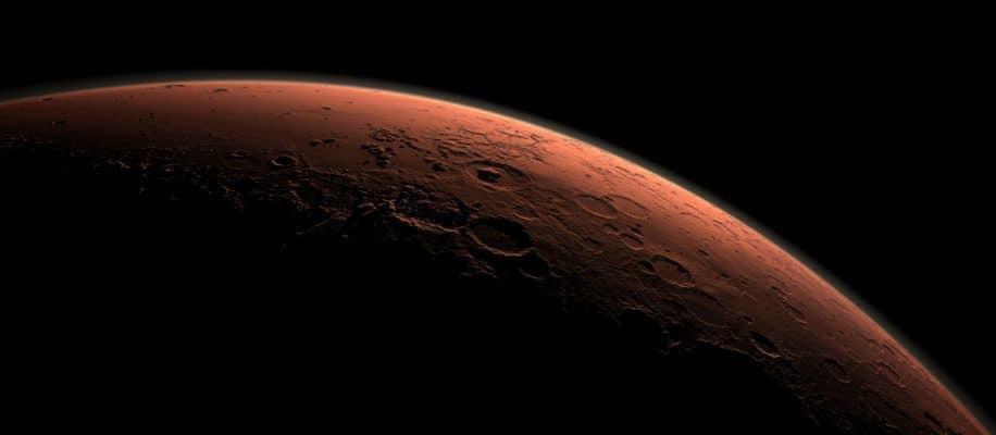 Mars aus dem Weltalt