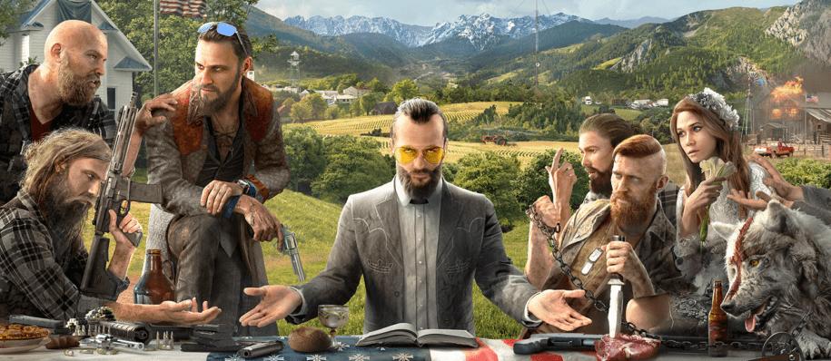 Far Cry 5 Charaktere