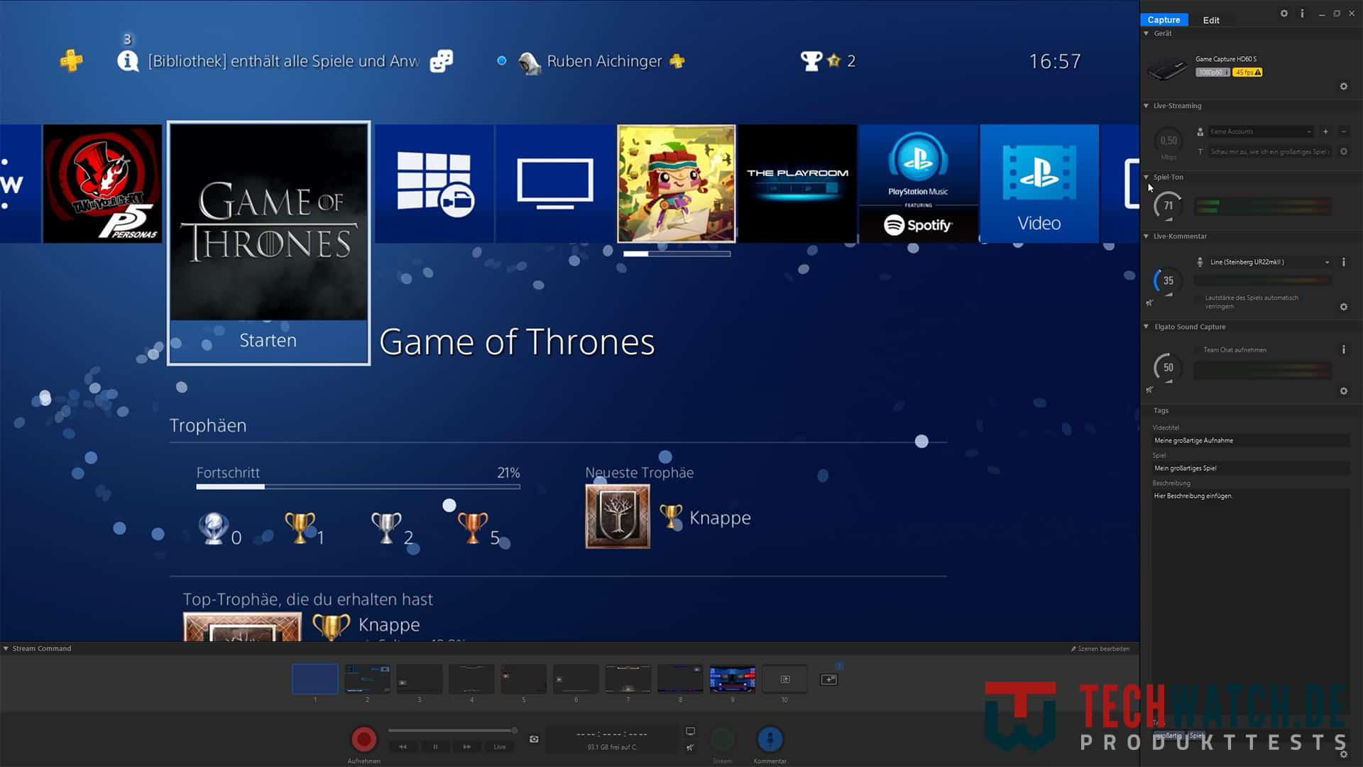 Elgato Game Capture HD60 S Game Capture