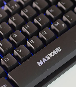 Masione Gaming Keyboard