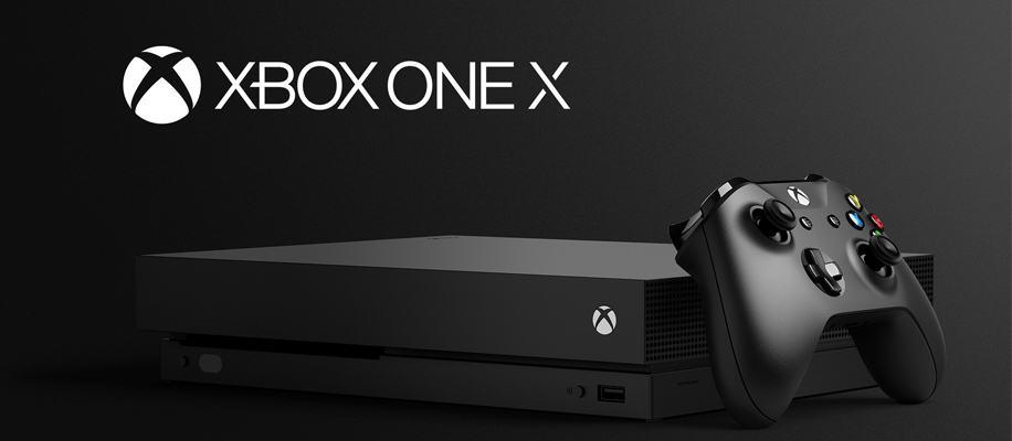 Xbox One X Render