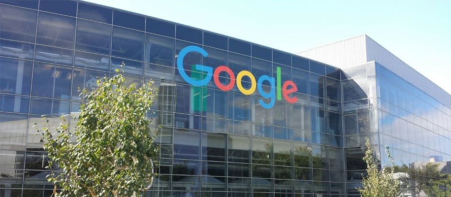 Google Firmensitz Fassade