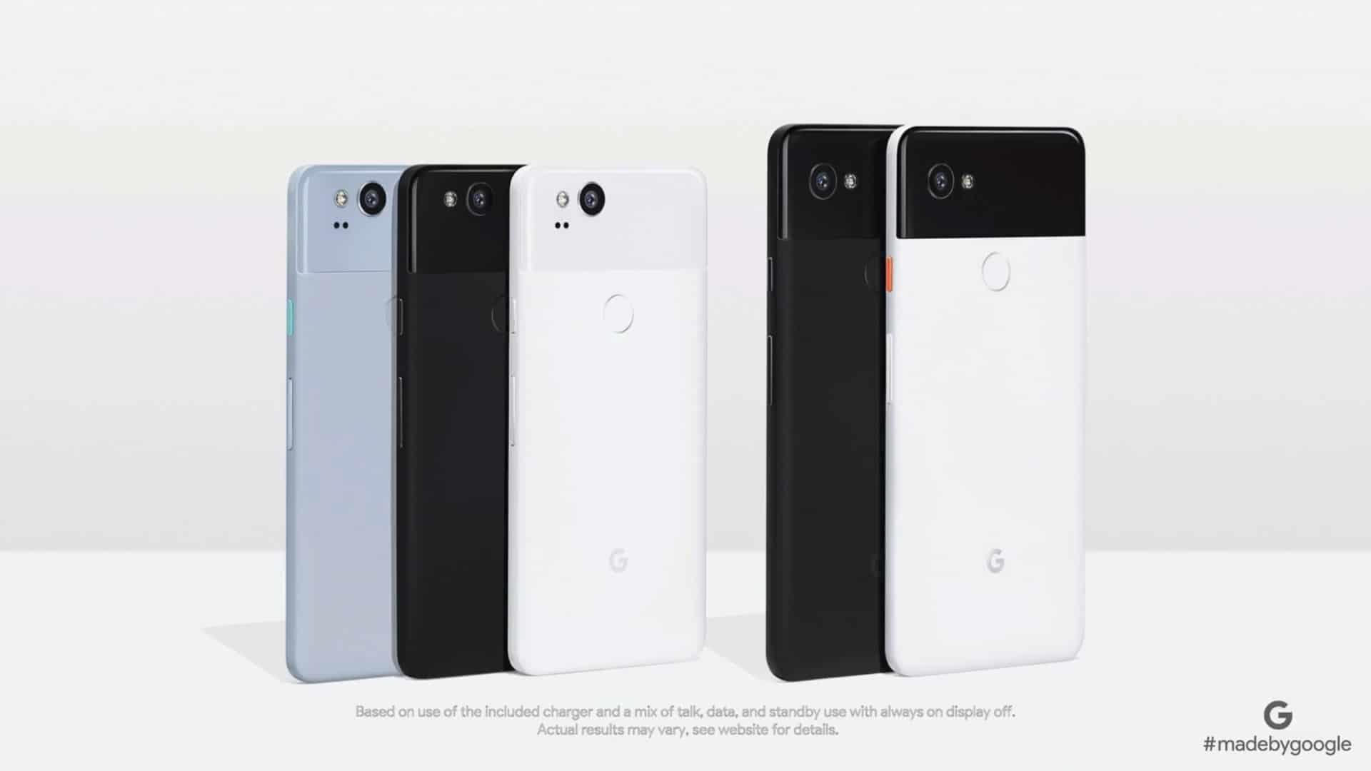 Google-Pixel-2-Farben