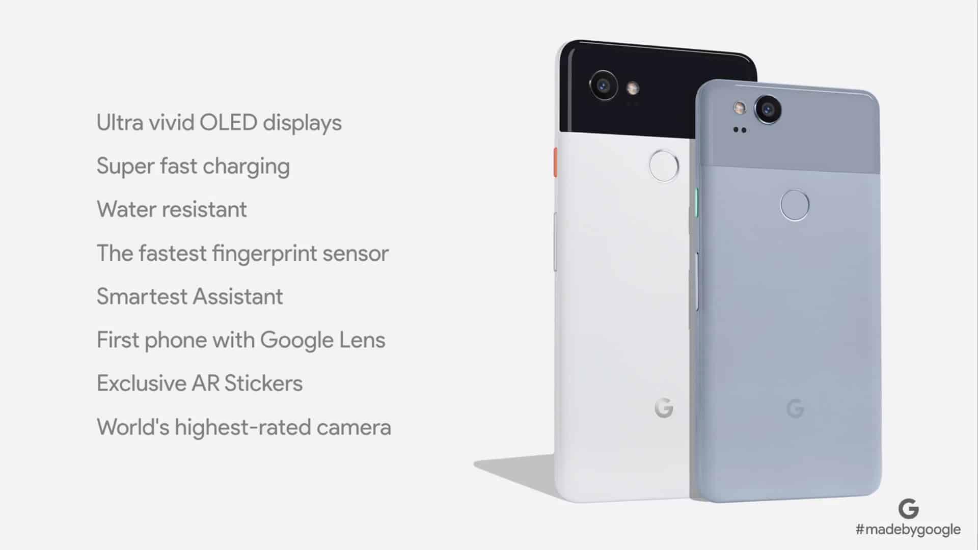 Pixel-2-Spezifikationen