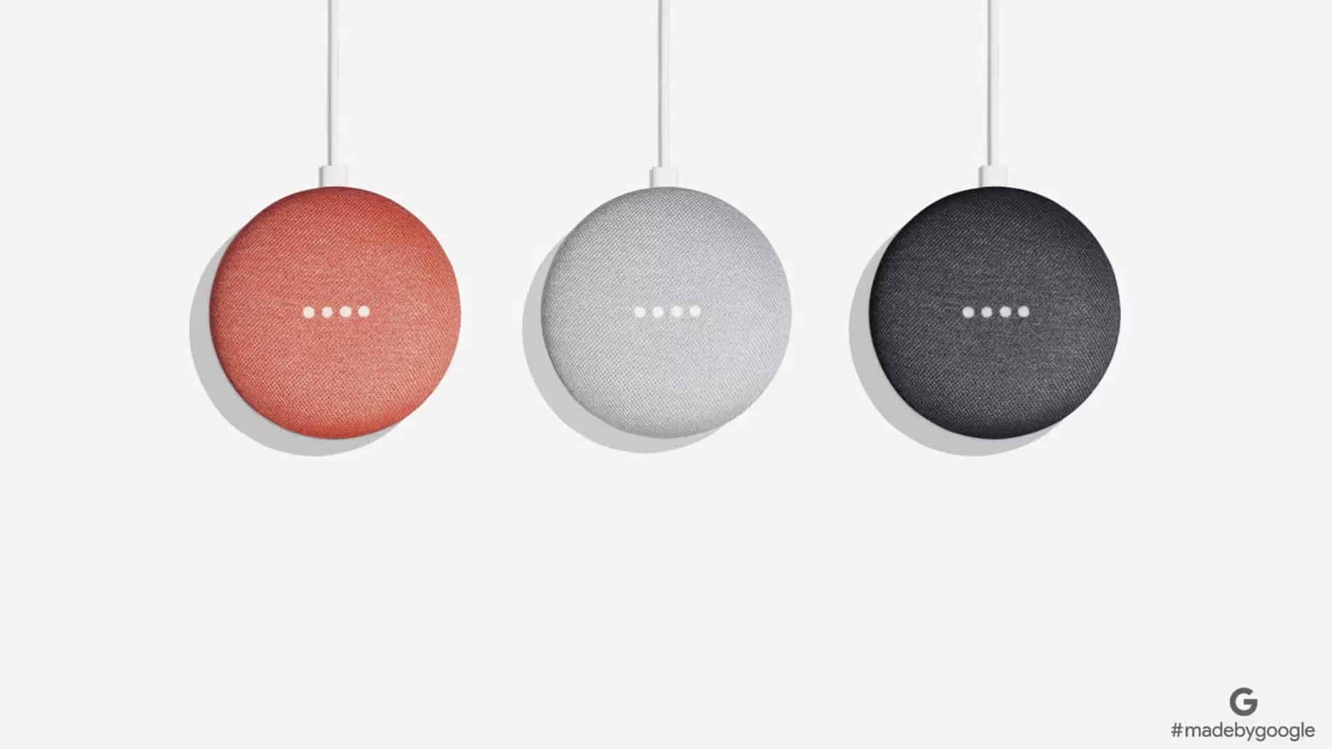 Google Home Mini Farben