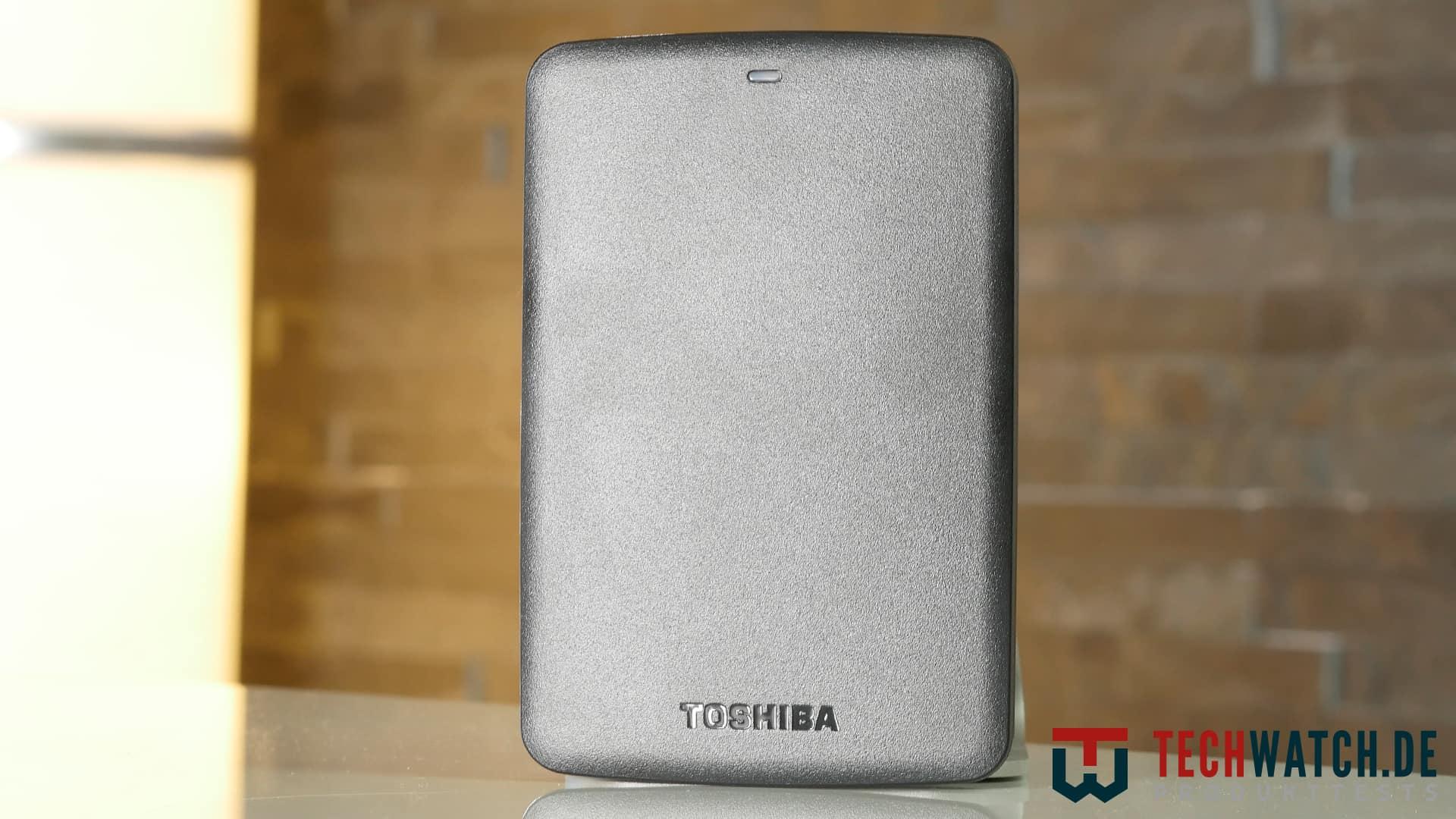 Toshiba Canvio Basics Oberseite