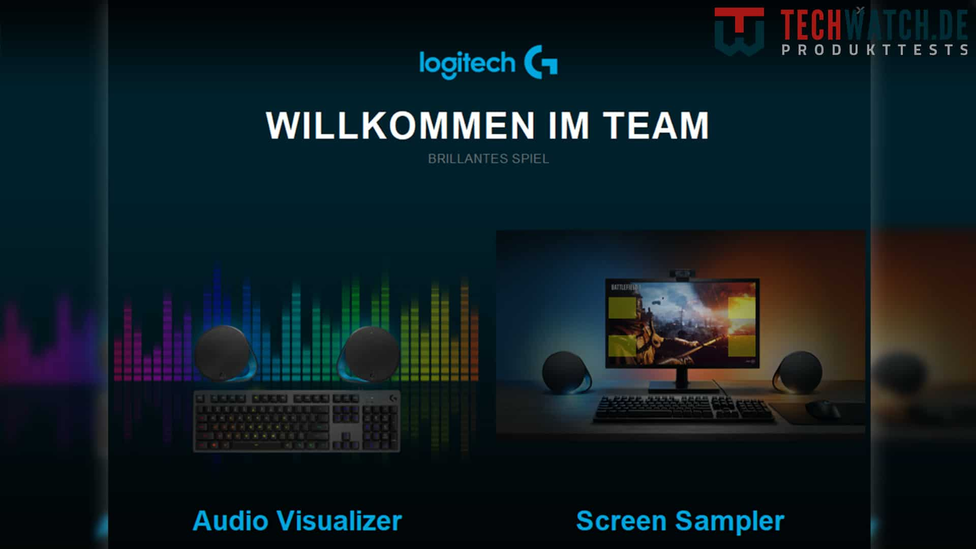 Logitech Gaming Software Audio Visualizer