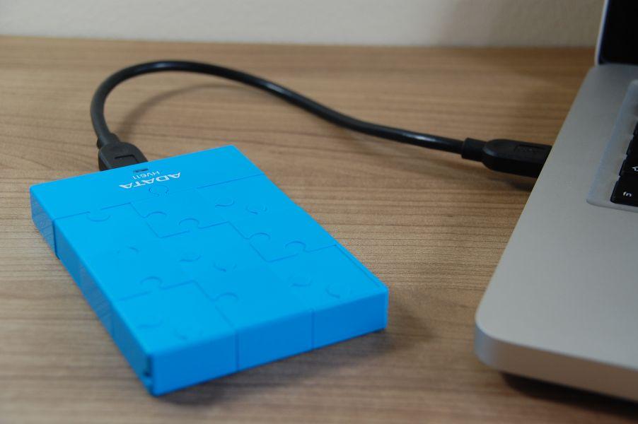 ADATA DashDrive HV611 - am MacBook